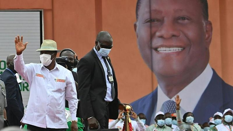 Deadly violence in Cote d'Ivoire as Ouattara gears up to claim third mandate