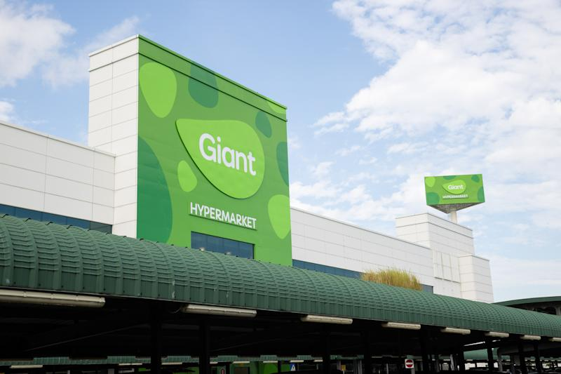 Giant hypermarket in Tampines. (PHOTO: Dairy Farm)