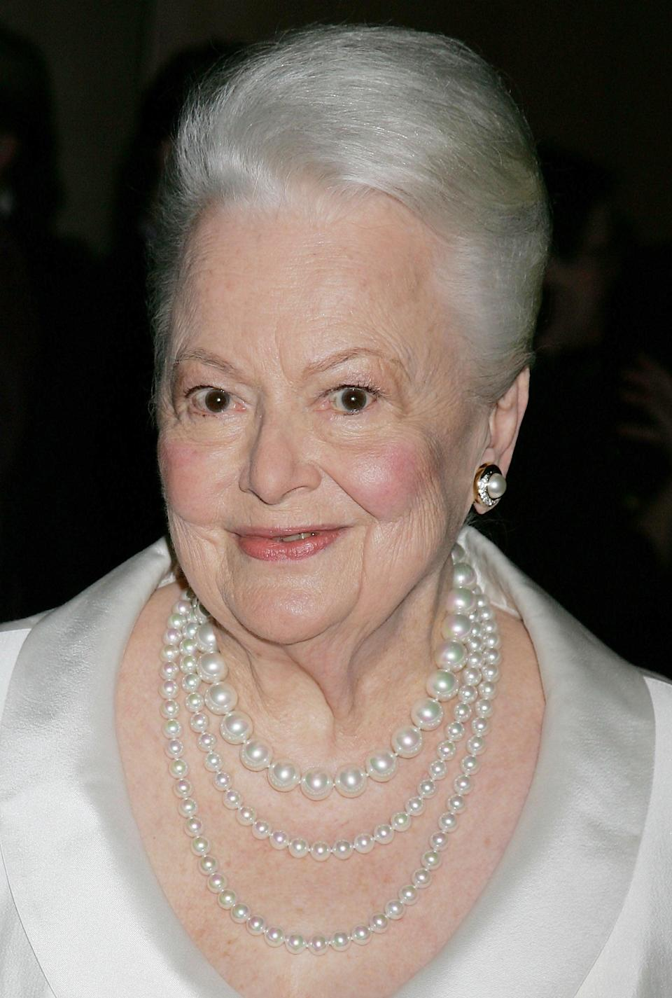 <p>The <span><strong>Gone With the Wind</strong> star died peacefully in her sleep</span> at age 104 in July. </p>