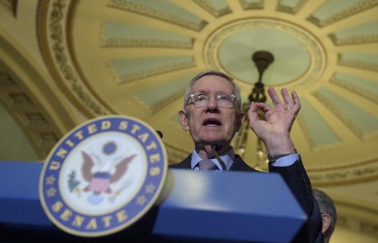 Senate Minority Leader Harry Reid. (Photo: Susan Walsh/AP)