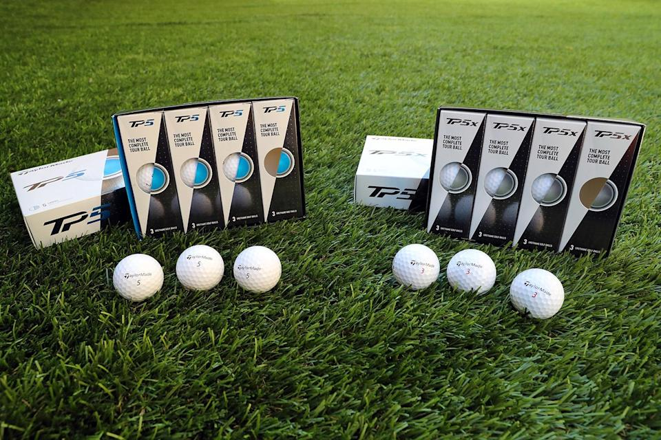 """<p>If your man has some golf chops, he can definitely take advantage of a high-quality golf ball. The new balls from TaylorMade have a soft feel that promotes control of the ball off the clubface as well as on the greens; the TP5 will grip and stop where lesser balls will hit and roll away into bogey territory. He might prefer the TP5X for a little more distance or the TP5 for accurate chip shots. <a href=""""https://taylormadegolf.com/taylormade-balls-TP5-TP5x/"""" rel=""""nofollow noopener"""" target=""""_blank"""" data-ylk=""""slk:$45/dozen"""" class=""""link rapid-noclick-resp"""">$45/dozen</a> (Gordon Donovan/Yahoo News) </p>"""