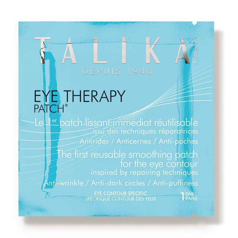 """<p><strong>TALIKA</strong></p><p>amazon.com</p><p><strong>$49.00</strong></p><p><a href=""""https://www.amazon.com/Therapy-Patch-Refills-Mask-count/dp/B000KJZEXY/?tag=syn-yahoo-20&ascsubtag=%5Bartid%7C10055.g.32633457%5Bsrc%7Cyahoo-us"""" rel=""""nofollow noopener"""" target=""""_blank"""" data-ylk=""""slk:Shop Now"""" class=""""link rapid-noclick-resp"""">Shop Now</a></p><p>A celeb favorite, these eye patches are<strong> actually reusable for up to three wears which means less waste and more bang for your buck</strong> — if you follow the instructions, each use comes out to around $2.72 (though some reviewers say, """"I use them more than 3 times each and still totally works""""). </p><p>They're made with simple ingredients like wheat germ oil, ceramides, and avocado oil, and reviewers """"love the way it hydrates and reduces puffiness."""" After wearing the patches for 30 minutes, simply replace them into the included chic metal case until you're ready for your next round. </p>"""
