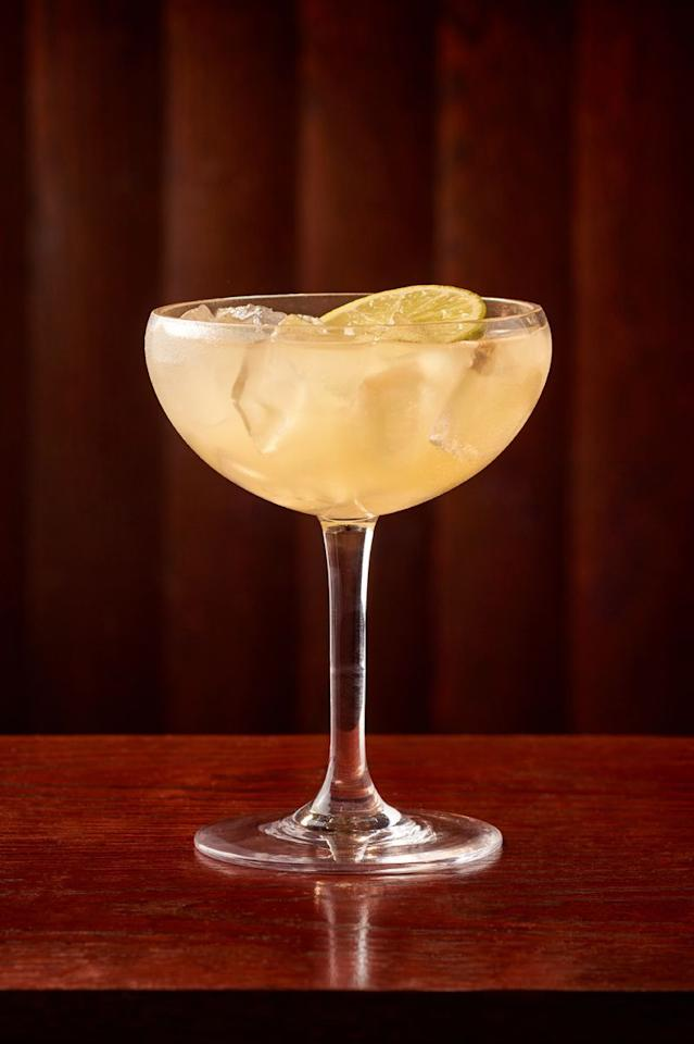 """<p><strong>Ingredients</strong></p><p><strong></strong>1.5 oz Herradura Silver Tequila<br>.5 oz limoncello<br>.25 oz amaretto<br>1 oz lime juice<br>.5 oz simple syrup<br>.5 oz orange juice</p><p><strong>Instructions</strong></p><p><strong></strong>Shake with ice and serve in a large coupe glass and garnish with a lime wheel. </p><p><em>By Erin Ward of <a href=""""http://www.carminesnyc.com/"""" target=""""_blank"""">Carmine's</a></em></p>"""