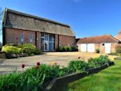 """<p>Over in Norfolk, this beautifully renovated 17th century grade II listed thatched barn can sleep up to 12 guests. Situated close to the delightful Norfolk Coast, it has a decorative inglenook fireplace, exposed brickwork, wooden beams, sprawling living quarters, six bedrooms and three bathrooms. Best of all, pets are also allowed to join. </p><p><strong>Guests: </strong>Up to 12<br><strong>Pricing: </strong>Enquire for details </p><p><a class=""""link rapid-noclick-resp"""" href=""""https://go.redirectingat.com?id=127X1599956&url=https%3A%2F%2Fwww.holidaycottages.co.uk%2Fcottage%2F55697-the-old-barn--norfolk-broads&sref=https%3A%2F%2Fwww.countryliving.com%2Fuk%2Ftravel-ideas%2Fstaycation-uk%2Fg35804522%2Fgroup-accommodation-holiday-homes-uk%2F"""" rel=""""nofollow noopener"""" target=""""_blank"""" data-ylk=""""slk:BOOK NOW"""">BOOK NOW </a></p>"""