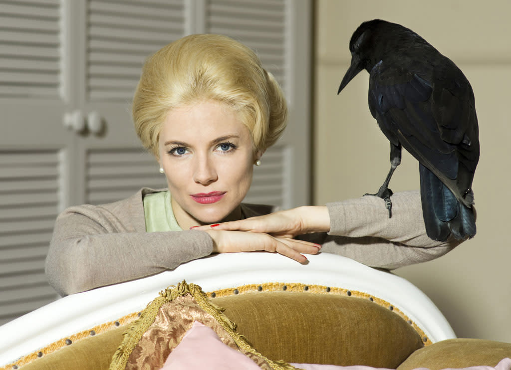 "Sienna Miller stars as Tippi Hedren in ""The Girl"" on HBO."