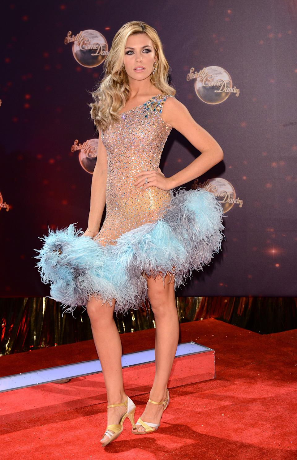Abbey Clancy won Strictly Come Dancing in 2013 (Photo: Karwai Tang via Getty Images)