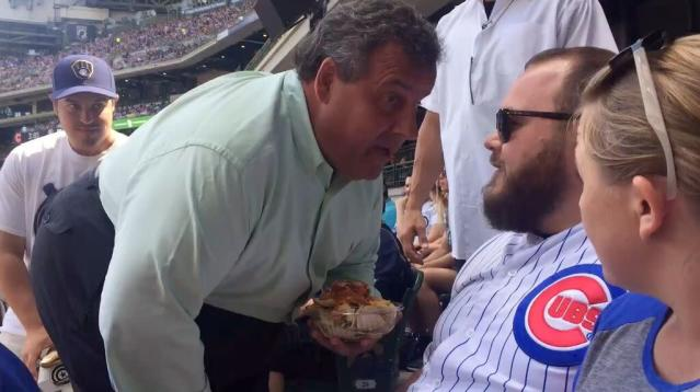 Christie on baseball game confrontation: 'If you give it, you're going to get it back'