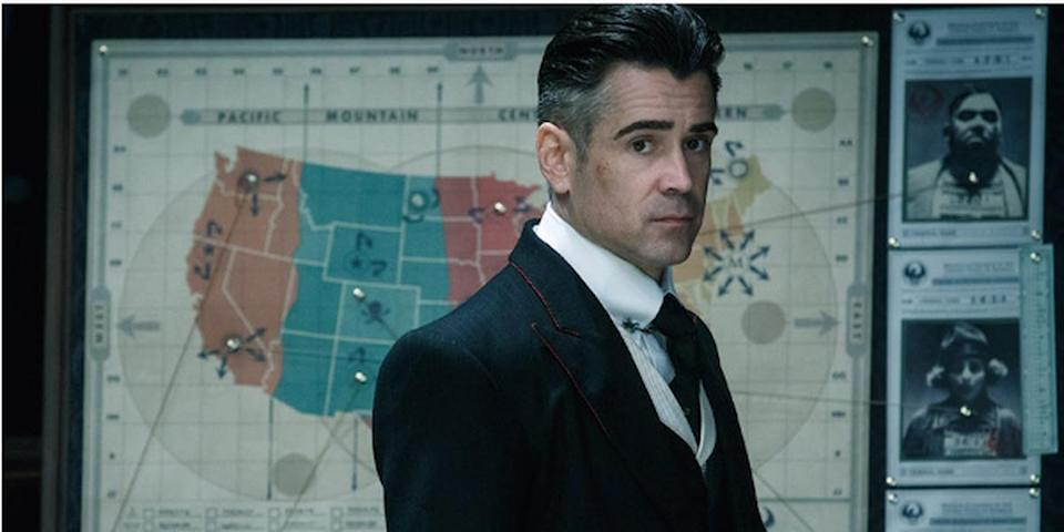 Colin Farrell in his role as Percival Graves in Fantastic Beasts and Where to Find Them