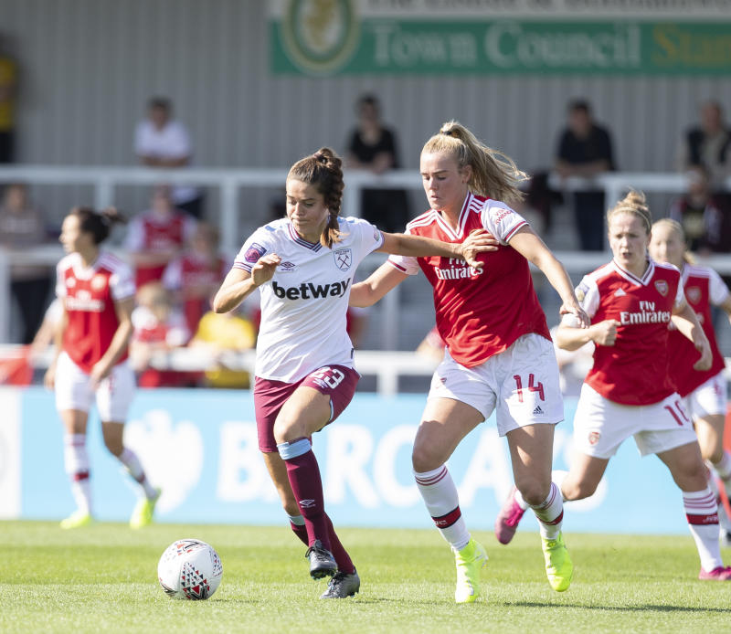 Tessel Middag has returned from injury and is playing for West Ham in the WSL