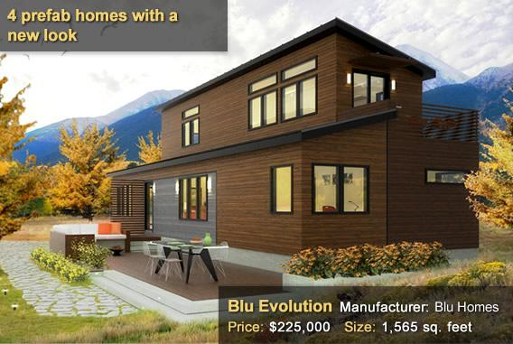 4 Prefab homes with a new look - Blu Evolution