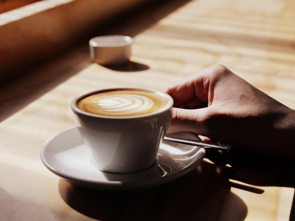 """<p>Ever since Starbucks popularized the Flat White in the U.S. in 2015, the drink has been widely available; but it wasn't always so. Originating in <a href=""""https://www.cntraveler.com/destinations/sydney?mbid=synd_yahoo_rss"""" rel=""""nofollow noopener"""" target=""""_blank"""" data-ylk=""""slk:Sydney"""" class=""""link rapid-noclick-resp"""">Sydney</a> in the '80s, the flat white was a new espresso drink, in which the beverage has a thin layer of microfoamed milk but lacks the frothy bubbles on top. A flat white is basically a latte on a diet.</p> <p><strong>Try it at home:</strong> <a href=""""https://amzn.to/2RKIrps"""" rel=""""nofollow noopener"""" target=""""_blank"""" data-ylk=""""slk:$499 Breville Infuser Espresso Machine at amazon.com"""" class=""""link rapid-noclick-resp"""">$499 Breville Infuser Espresso Machine at amazon.com</a></p>"""