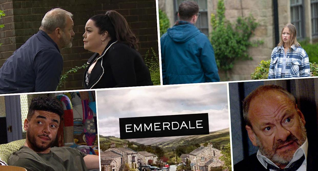 ITV is keeping its Emmerdale spoilers close to its chest this week (ITV)