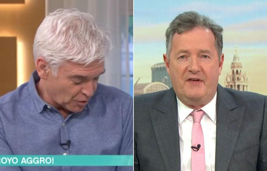 Phillip Schofield and Piers Morgan (Photo: ITV/Shutterstock)