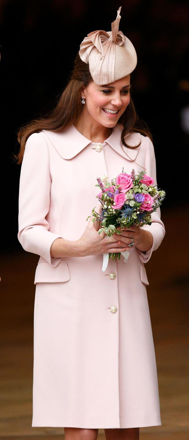 <p>The coat then dressed Kate's second bump for the Commonwealth Observance Service at Westminster Abbey.</p>