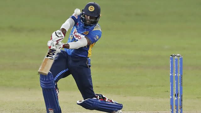 Sri Lanka's Bhanuka Rajapaksa played a quickfire 65 off 56 balls, that included 12 boundaries in total. AP
