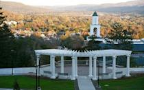 """<p><strong>Established in 1797</strong></p><p><strong>Location: Oneonta, New York</strong></p><p><a href=""""https://www.hartwick.edu/about-us/hartwick-history/"""" rel=""""nofollow noopener"""" target=""""_blank"""" data-ylk=""""slk:Hartwick College"""" class=""""link rapid-noclick-resp"""">Hartwick College</a> is really small, with only about 1,200 students. Back in 1797, it began as Hartwick Seminary and was founded through the will of John Christopher Hartwick, a Lutheran minister who arrived from Germany in 1746 to lead several mission congregations of early settlers near the area. He had a dream of establishing a college that eventually became a reality.</p>"""