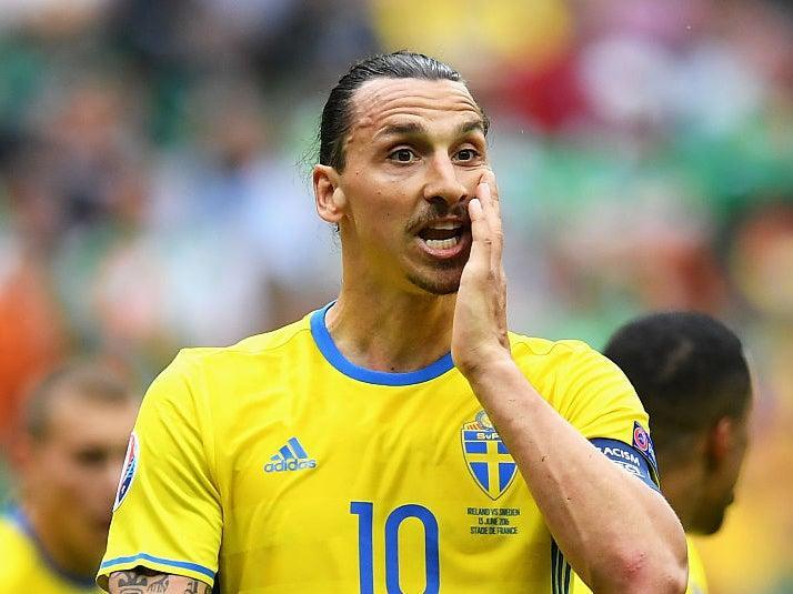 Ibrahimovic has not played for Sweden for nearly five years (Getty Images)