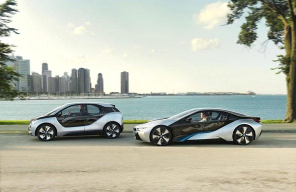 BMW electric cars