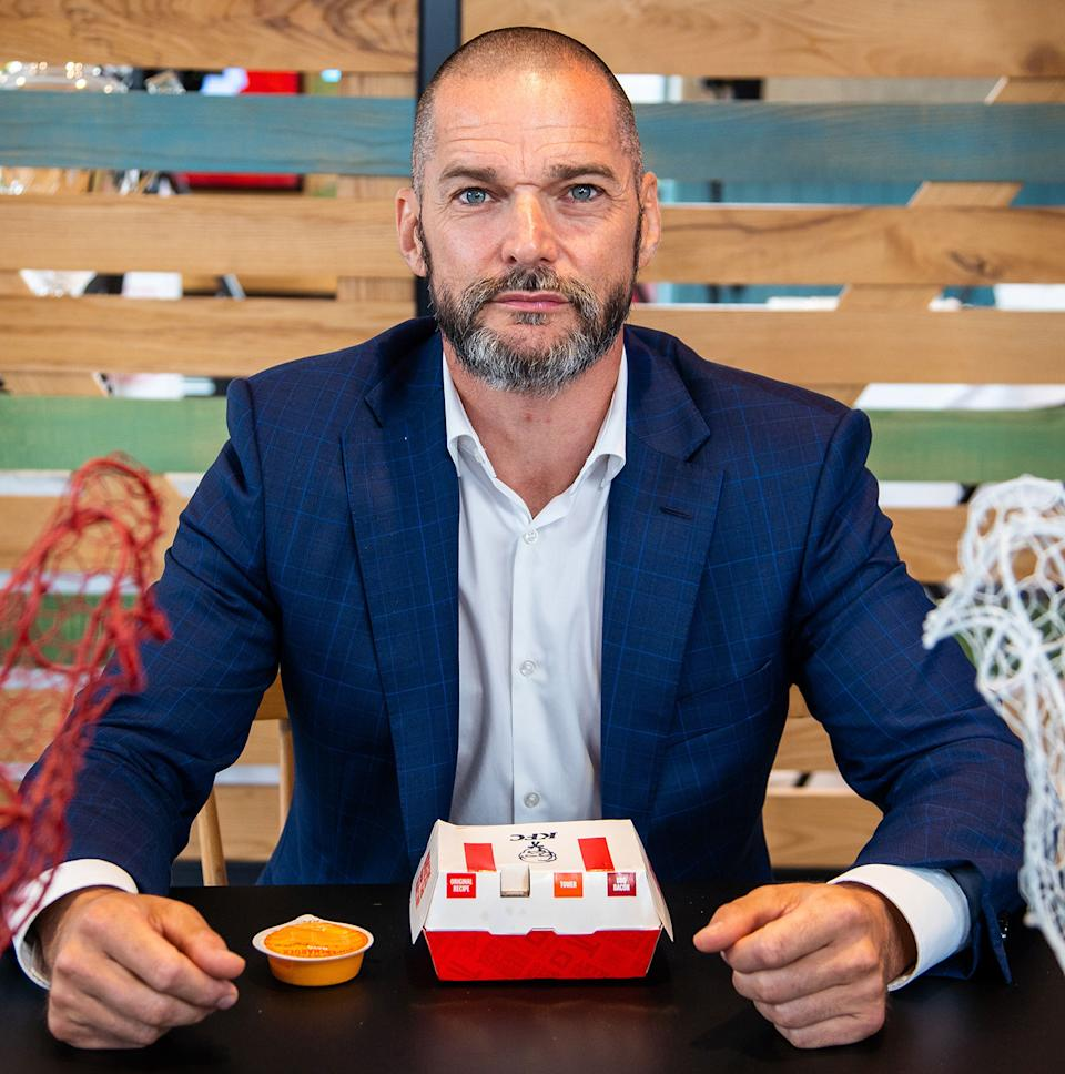 Fred Sirieix in Snackmasters (C4)