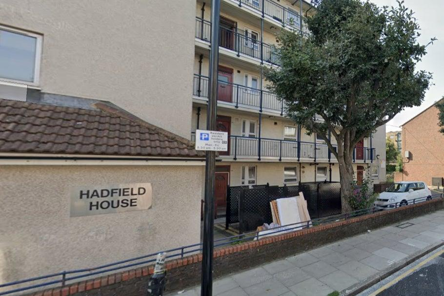 <p>Hadfield House in Whitechapel. The victim was pronounced dead at the scene.</p> (Google)