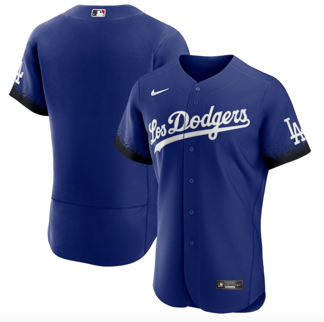 Dodgers Nike Royal 2021 City Connect Authentic Jersey
