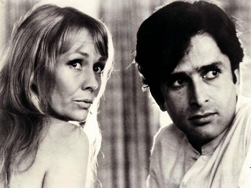 Kapoor with his wife Jennifer Kendal in the 1970 film 'Bombay Talkie'. The couple went on to build the Prithvi Theatre in Mumbai (Rex)
