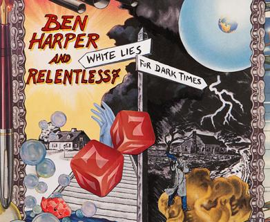 <p>After an incredible showing at Bluesfest Byron Bay and The Metro in Sydney earlier this year, Ben Harper and Relentless7 have released their debut record, White Lies For Dark Times.</p>