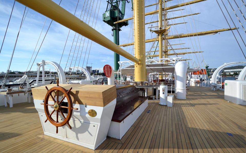 The scheduled sailing of the world's largest tall ship has been postponed - Tradewind Voyages