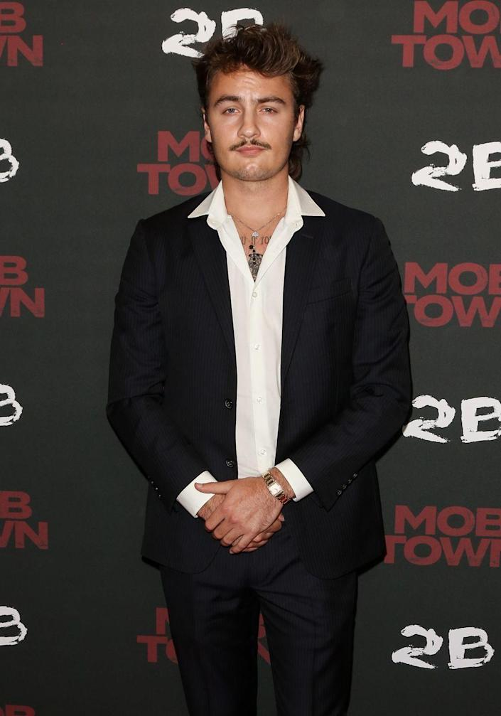 <p>Lee, 23, currently stars on the MTV reality show <em>The Hills: New Beginnings</em> and also showed off his acting chops in the Netflix original, <em>Sierra Burgess Is a Loser</em>.</p>