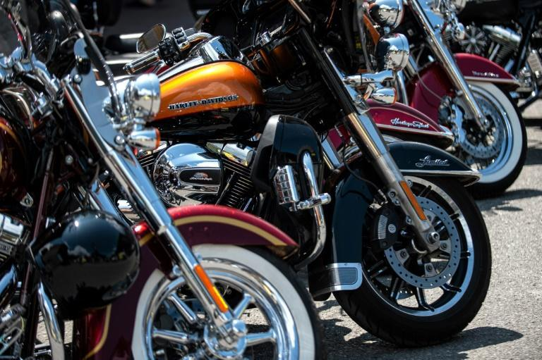 After Trump slapped tarrifs on European steel, Brussels hit back with levies on iconic US products including Harley Davidson motorbikes