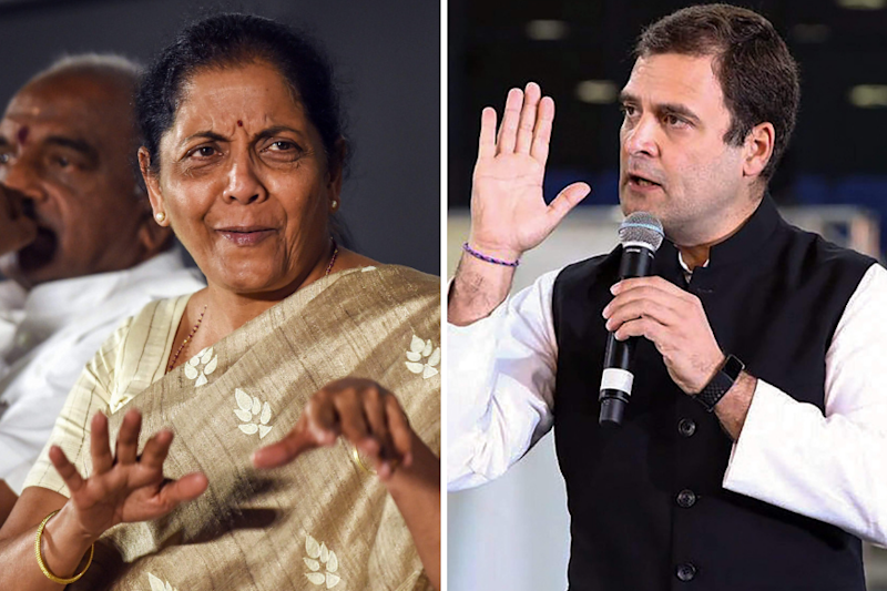 Do Not Impose Your Sexism on Me: Rahul Gandhi Defends 'Misogynistic' Remarks Against Sitharaman