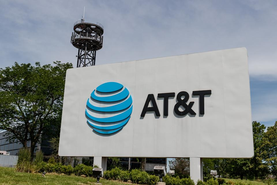 Northbrook - Circa June 2019: AT&T central office. AT&T wrapped up its merger with WarnerMedia and now controls HBO, CNN and DirecTV