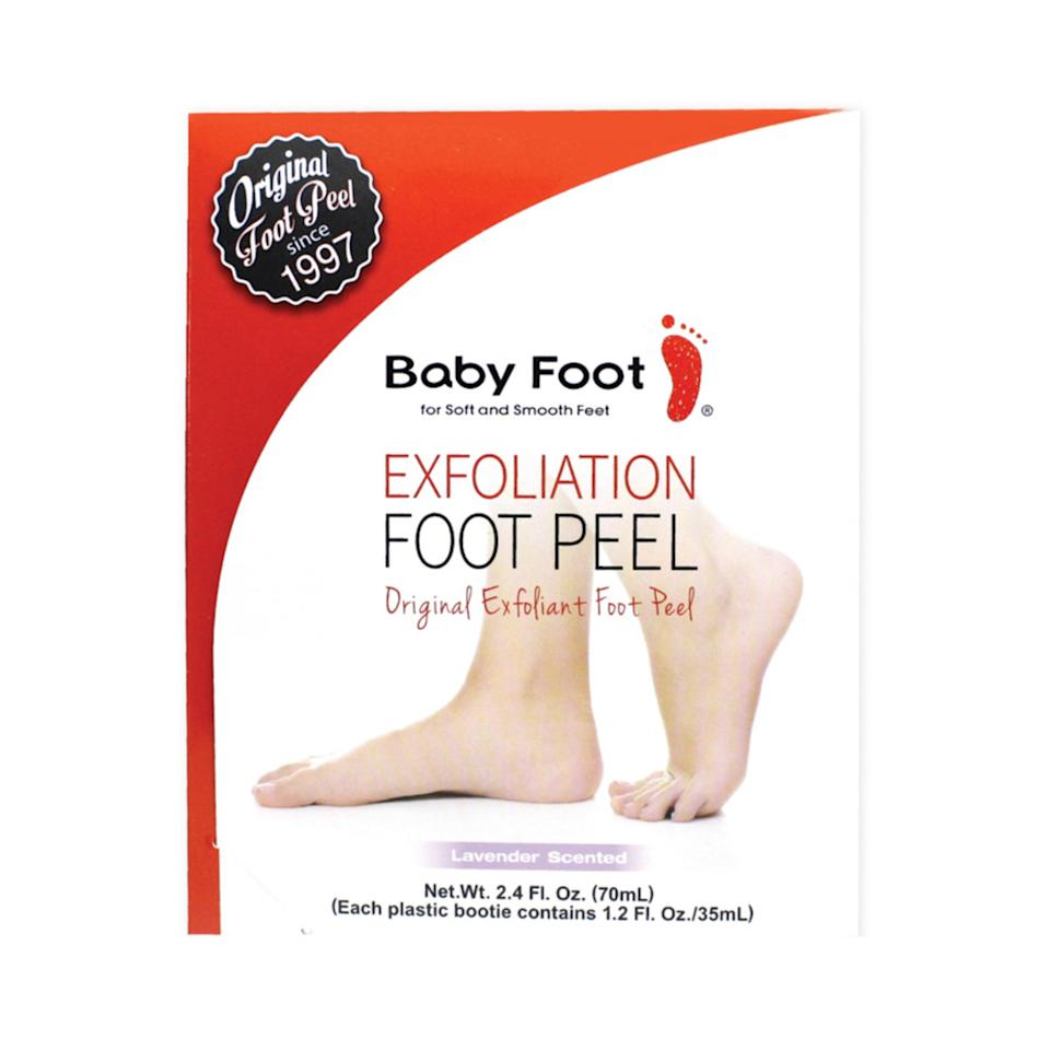 The powerful Baby Foot formula also includes a blend os 17 natural extracts to moisturize and nourish skin in the process. (Photo: Ulta)