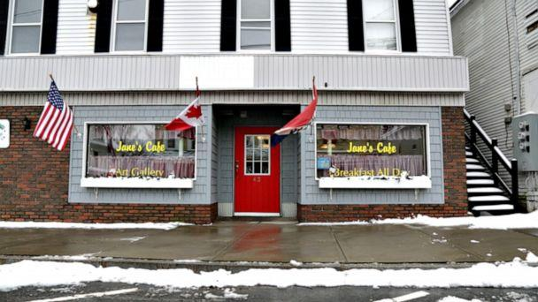 PHOTO: Jane's Cafe is walking distance from a border entry point. (Janet Weinstein/ABC News)