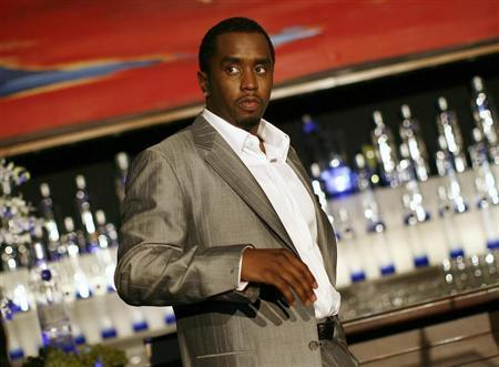 "Sean ""Diddy"" Combs is pictured after announcing his alliance with Ciroc vodka and the Diageo spirits company in New York October 24, 2007. REUTERS/Shannon Stapleton"