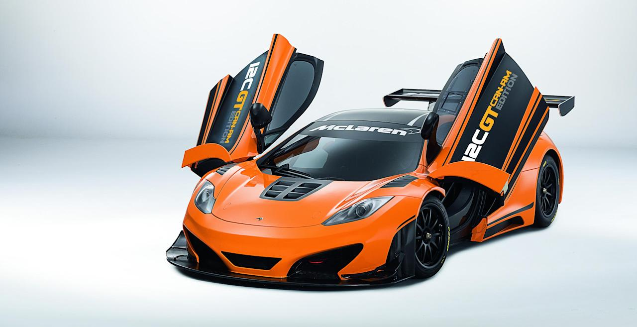 Production starts in March 2013 and will be built in Woking (McClaren)