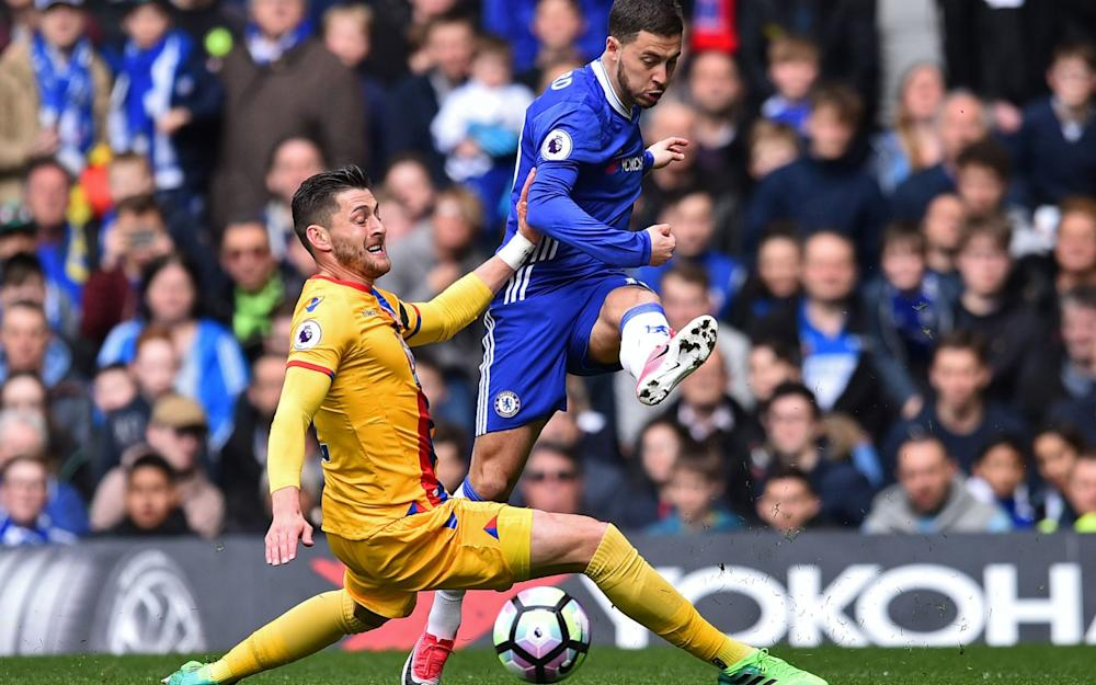 Hazard insists he's happy at Chelsea