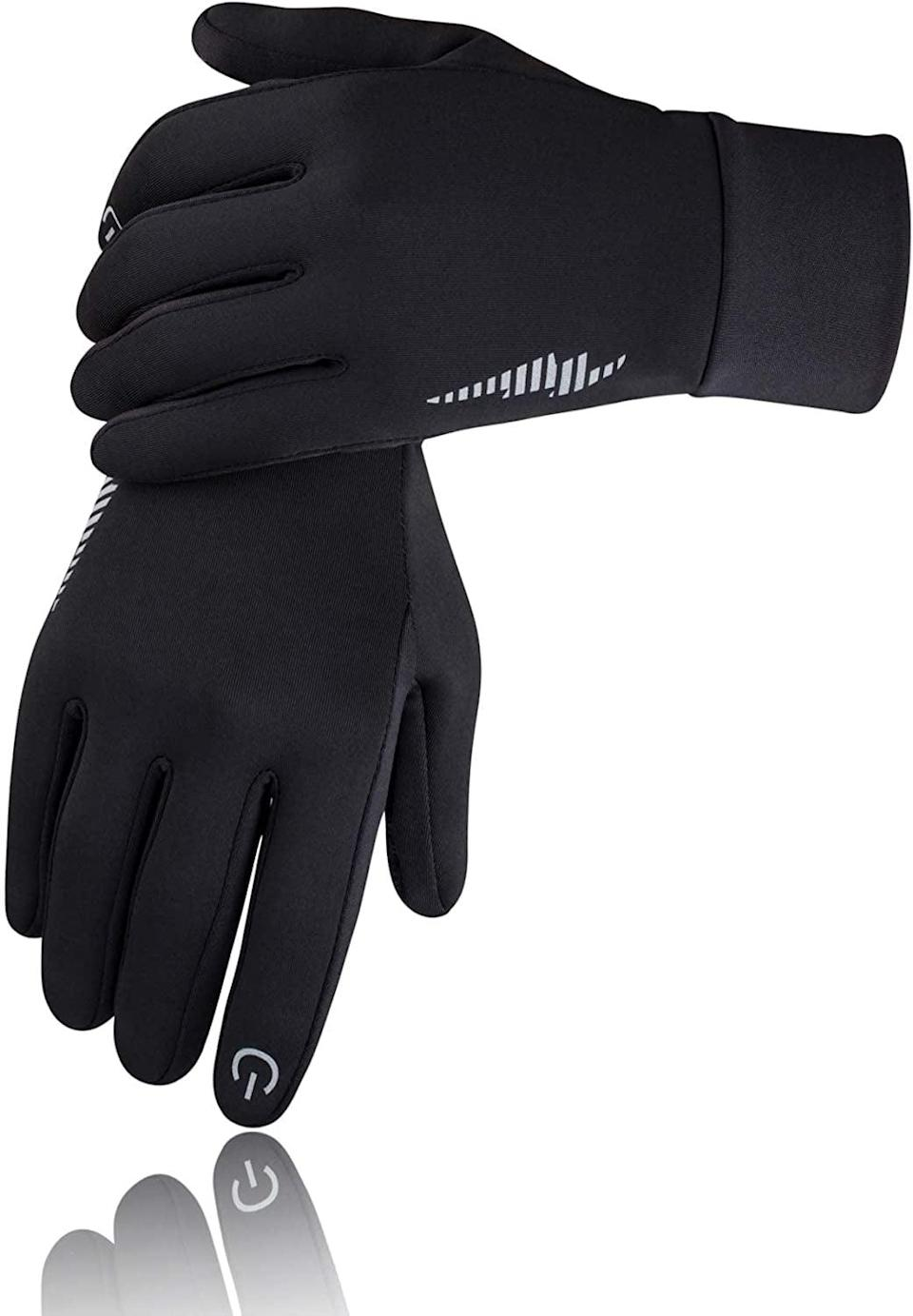 <p>With the <span>SIMARI Touch Screen Winter Gloves</span> ($17) they'll be able to use their smart phones and keep their hands warm during the colder months. It comes in a variety of colors as well!</p>