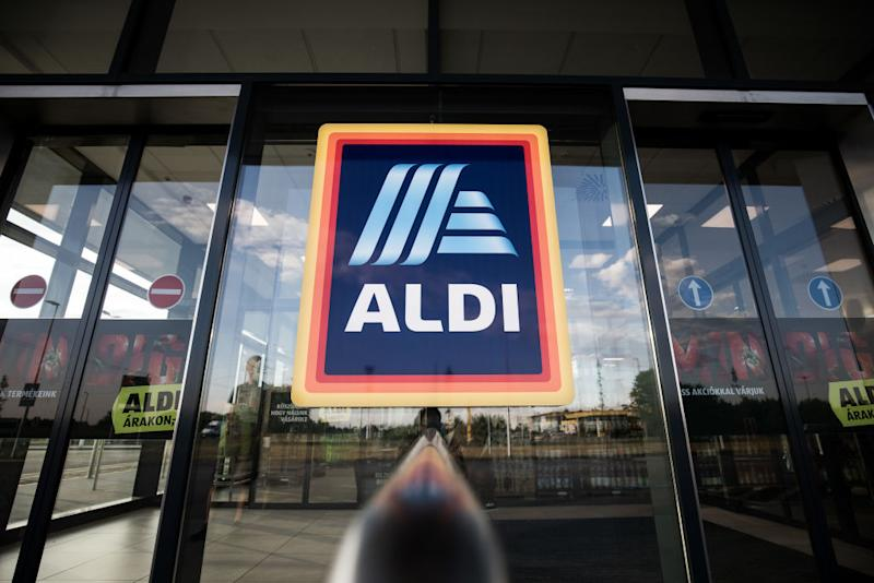 The NSW mum says she will never shop at Aldi again. Pictured is a stock image of an Aldi storefront.