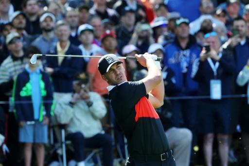 Defending champion Brooks Koepka fired a seven-under par 63 to grab the lead in the first round of the PGA Championship at Bethpage Black