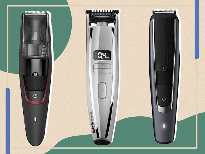 <p>Make a virtue of being too lazy to shave with a trimmer to manicure that stubble</p> (The Independent)