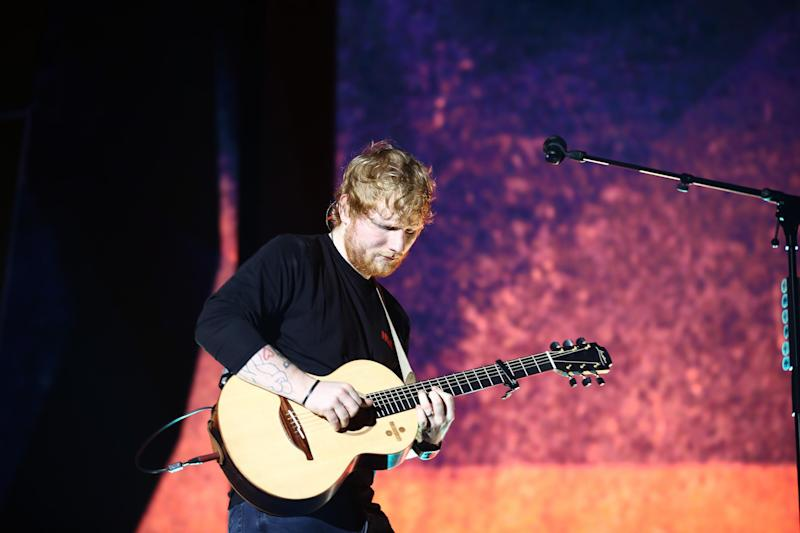 Collaborations: Sheeran's new album sees him team up with some of his favourite artists (Getty)