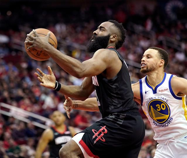Are the Rockets and Warriors destined for another conference finals matchup? (AP)