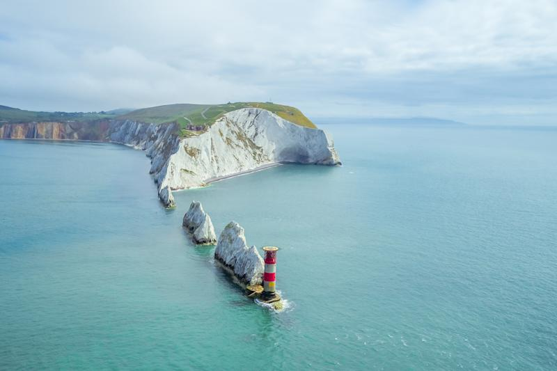 The Needles, Isle Of Wight, can be accessed via boat [Photo: Getty]
