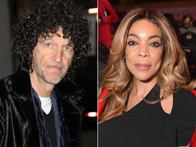Howard Stern and Wendy Williams | Walter McBride/WireImage; Michael Loccisano/Getty