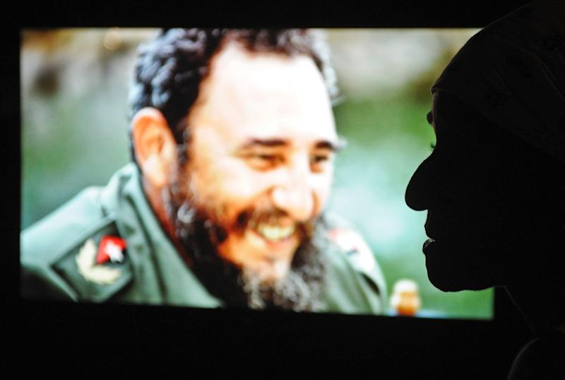 "The ""Fidel"" exhibition is dedicated to Cuba's former revolutionary leader (AFP Photo/Yamil Lage)"