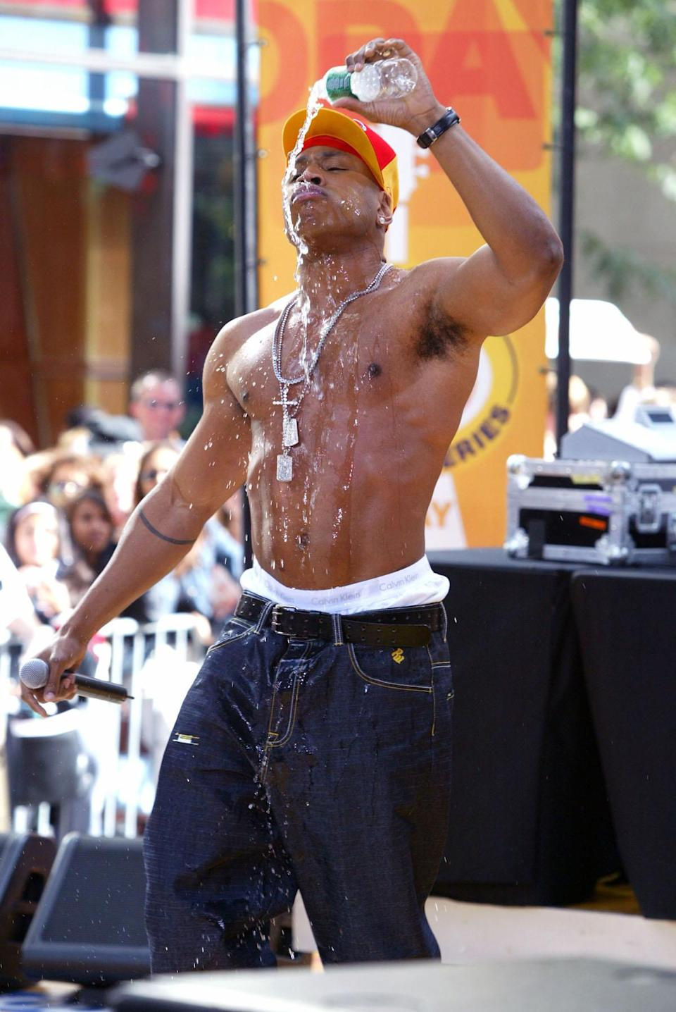 50 photos of a shirtless LL Cool J on his 50th birthday