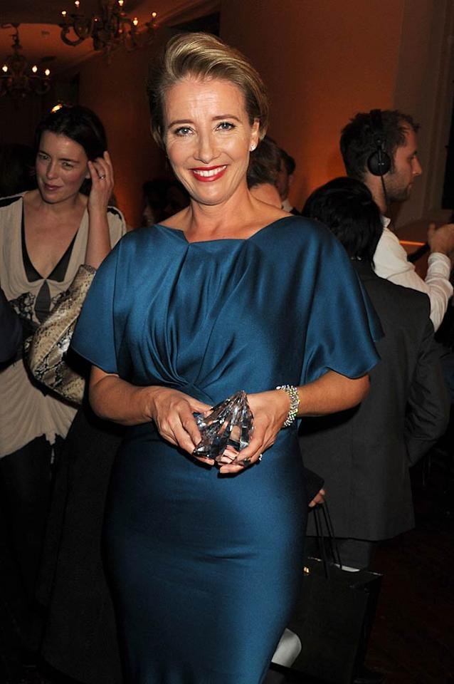 """April 15: Emma Thompson turns 52 Dave M. Benett/<a href=""""http://www.gettyimages.com/"""" target=""""new"""">GettyImages.com</a> - November 1, 2010"""