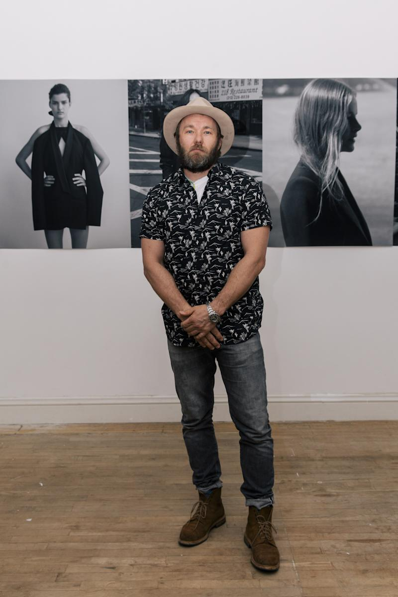 Joel Edgerton attends Dion Lee and The Woolmark Company Celebrate Dion Lee [SUIT] Portrait Series.