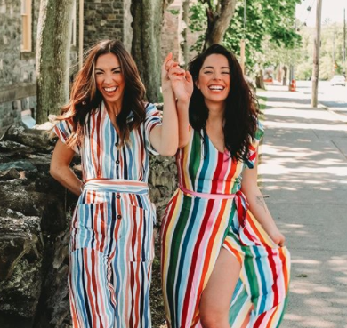 Allie and Sam lesbian couple sperm giveaway instagram